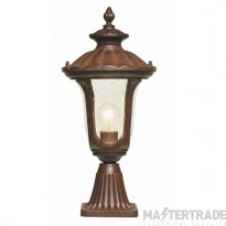 Elstead CC3/S Chicago Exterior Small Pedestal Lantern IP44