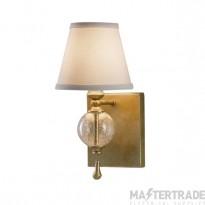 Elstead FE/ARGENTO1 Wall Light E14 60W