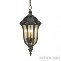 Elstead FE/BATONRG8 Lantern E14 4x60W