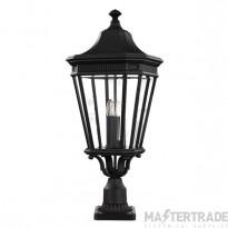 Elstead FE/COTSLN3/LBK Lantern E14 3x60W