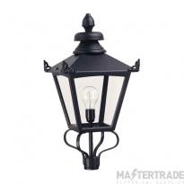 Elstead GL1BLACK Lantern Head E27 150W