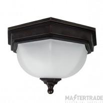 Elstead GZH/FF12 Flush Lantern E27 2x40W