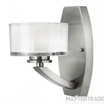 HK/MERIDIAN1 1 Light Brushed Nickel Wall Bracket