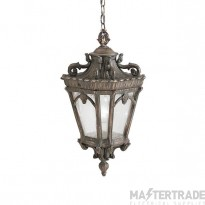 Elstead KL/TOURNAI8/XL Tournai 3 Light X-Large Chain Ceiling Lantern Light In Londonderry
