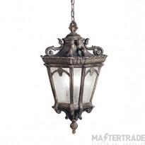 Elstead KL/TOURNAI8G/XL Tournai 4 Light XL Grand Chain Ceiling Lantern Light In Londonderry
