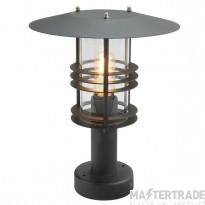 Elstead ST3BLACK Ped Lantern E27 60W