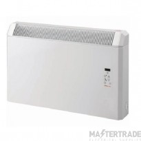Elnur 1.25kw Panel Heater with Digital Timer Programmer