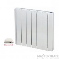 Elnur 0.75Kw Electric Radiator with Bulit-in G-Control Wifi