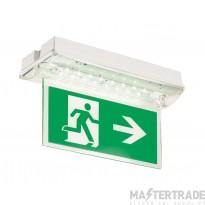 ELP FIDE/M3/Dali-Test Finesse LED Emergency Surface Exit Blade 3hrM Dali-Test