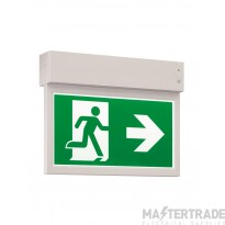 ELP MexLITE LED EXIT (25m viewing) LED Wall/Ceiling Maintained emergency(EC & ISO legends all included)