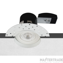 Emco FIRE007GU+EMCPM2 Fire-Rated IP20 Plaster In GU10 Downlight