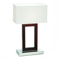 Endon 0195-DW Table Lamp BC 60WDark Wood