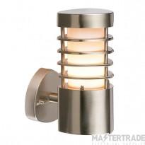Endon 13798 Wall Light E27 11W S/S