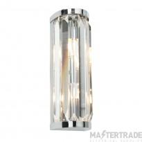 Endon 39629 Crystal Wall Light G9 2x28W