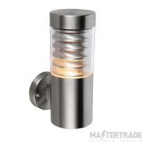Endon 49909 Equinox Stainless Steel Outdoor Wall Light IP44