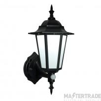 Endon 54555 Evesham Lantern LED 7W Black