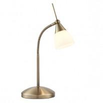 Endon 652-TLAN Desk Lamp G9 40W Antq