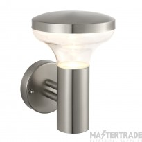 Endon 67701 Roko 1 Light Wall Light In Marine Grade Brushed Stainless Steel