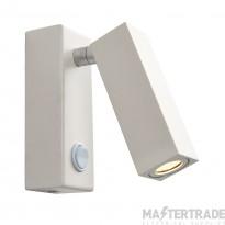 Endon 68967 Bock LED Wall Light 3W Whi