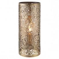 Endon 70102 Secret Garden Table Lamp In Antique Brass