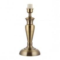 Endon OSLO-M-AN Table Lamp BC 60W Antq