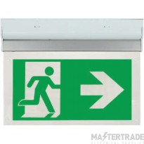 ESP LED 2W Maintained Exit Sign Legend RIGHT