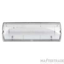 ESP EMLED3WMBULK2 LED Emergency Exit Surface Bulkhead IP65 3hrM 3W