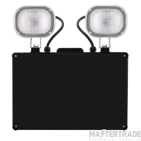LED IP40 Non Maintained Emergency Twin Spot