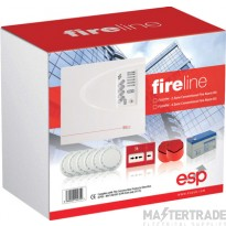 ESP 4 Zone Conventional Fire Alarm Kit