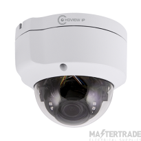 ESP HDVIPC28FDWAV White 2.8mm Lens 5MP IP Vandal Resistant POE Fixed Dome Camera