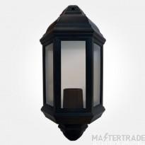 Eterna HL60B Half Lantern ES GLS 60W Blk