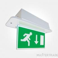 Eterna LEDMDDEM3 LED Emergency Recessed Exit Blade 3.5W