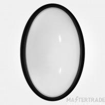 Eterna LEDOVAL LED Oval Bulkhead 13W Blk
