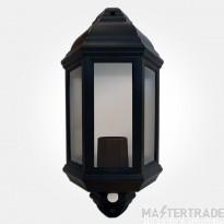 Eterna PIRHL60BK Half Lantern+PIR 60W