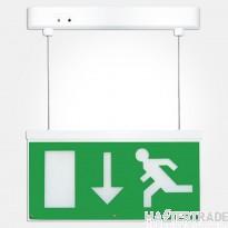 Eterna SIGNLEDEM3 LED Emergency Hanging Exit Blade Legend Down