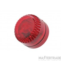 Solex Beacon Shallow Base, Red body, Red Lens