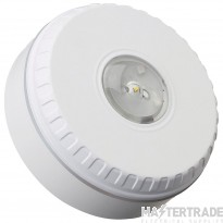 Solista LX Ceiling Beacon, White Body, White Flash, Shallow