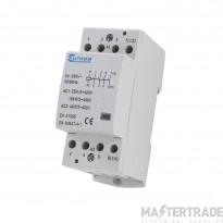 Europa EUC2-25-4P Modular Contactor 25A