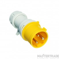 Europa IP163F IP44 Industrial Plug 2P+E 16A 110V Yellow