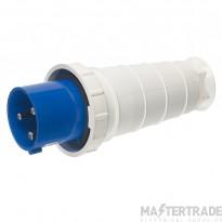 Europa IPW163P IP44 Industrial Plug 2P+E 16A 230V Blue