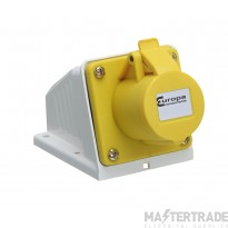 Europa ISS163F IP44 Industrial Socket 2P+E 16A 110V
