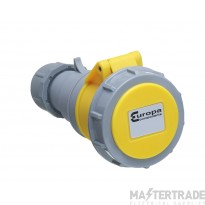 Europa 2P+E 32A Yellow Industrial Socket 110V ISW323F