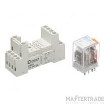 Europa R8S24D2PDT Miniature Relay 24VDC