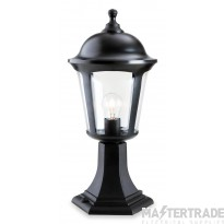 Firstlight 3483BK Pillar Lantern Black