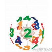 Firstlight 3741 Numbers Pendant Multicolour