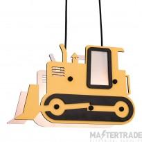 Firstlight 3742 Bulldozer Pendant Multicolour