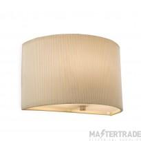Firstlight 8632CR Wall Light E27 60W