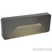 Forum CZ-29192-ATR Anthracite Breez rect surf mount LED