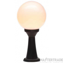 Forum CZ-31812-BLK Black York Opal Globe Post Lant