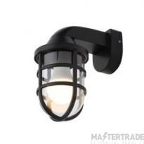 Forum CZ-35742-BLK - Jura Wall Lantern in Black Finish